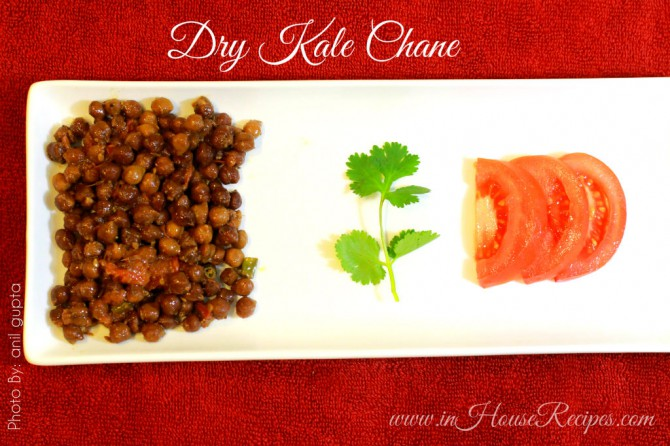 Dry Kale chane for Navratri Pooja
