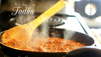 Tadka for Indian recipes can be preserved for ready use