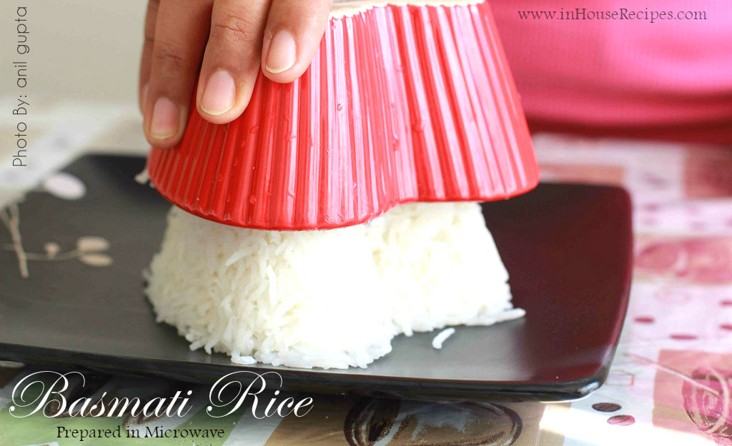 Making rice in microwave is quicker than stove