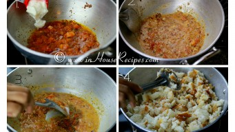 Add curd to tadka