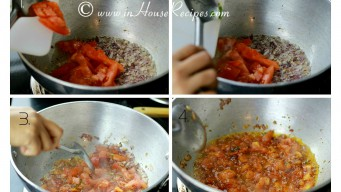 Add Tomato to tadka