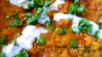 Matar Korma Recipe