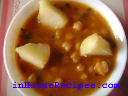 Reduce Excess Salt In Curry With Boiled Potato