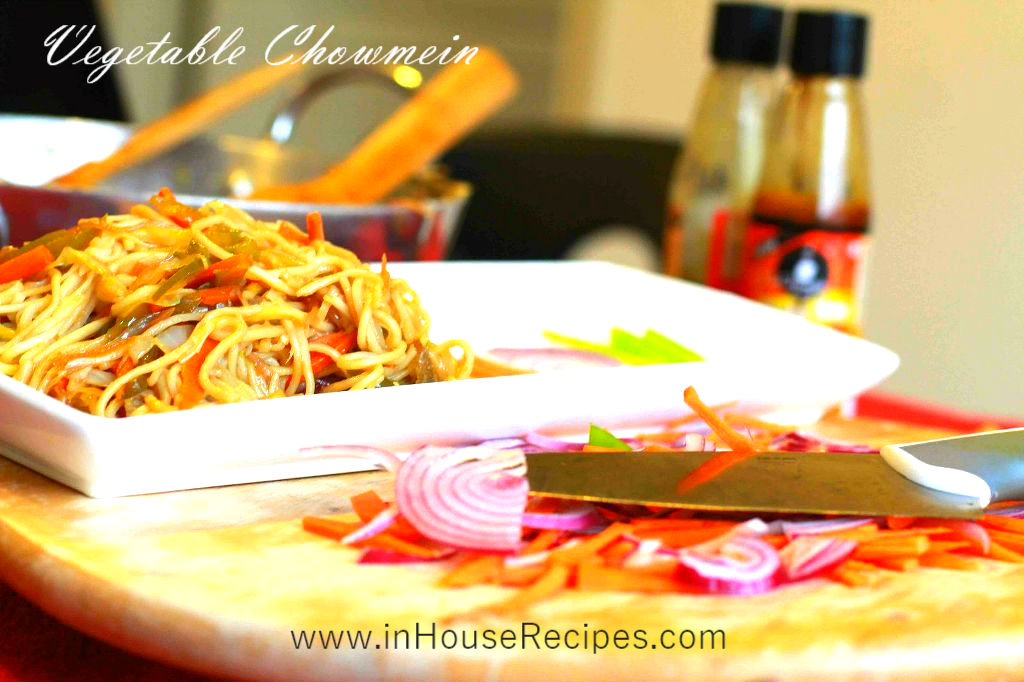 how to cook chow mein in hindi
