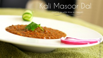 Kali Masoor Dal Should be part of your Balanced North Indian Diet