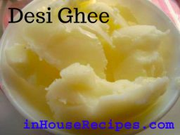 Make Desi Ghee from Milk cream-recipe