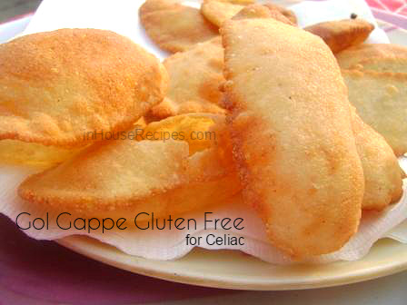 Gluten free gol gappe