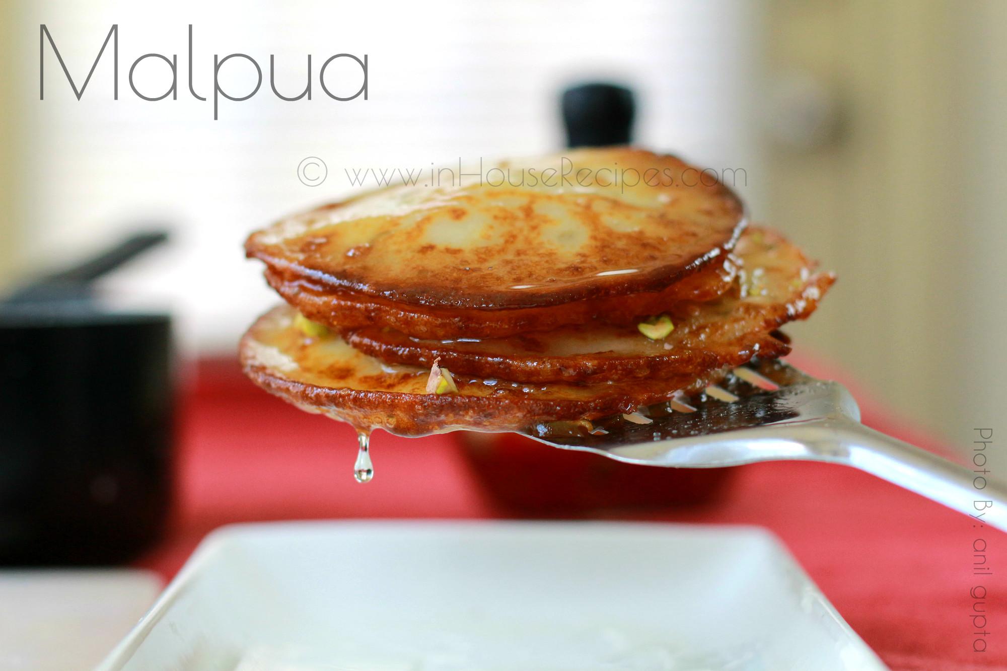 Malpua - an Indian dessert