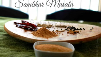 Mixture of dal – sambar powder