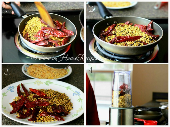 Roasted whole spices