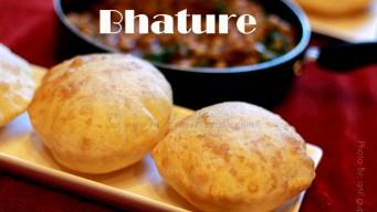 Fluffy Bhatura