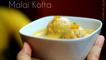 Home cooked Malai kofta