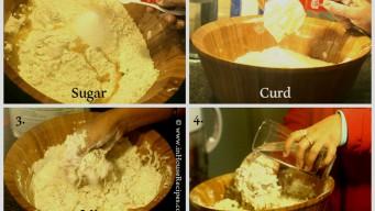 Knead Bhatura dough
