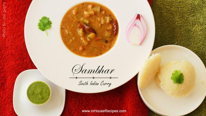 Homemade sambar can be as delicious as a restaurant one