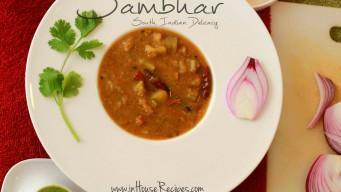Make Sambar without sambar masala