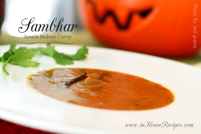 Sambhar recipe