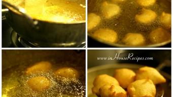Deep fry Bhalla