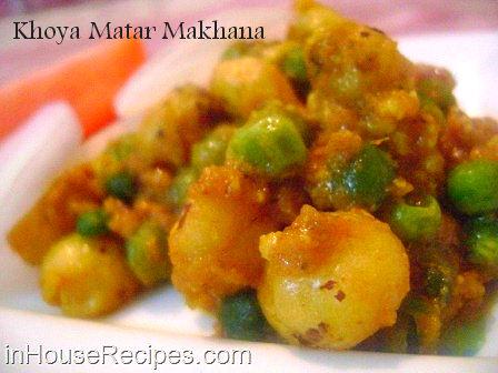 Khoya matar makhana