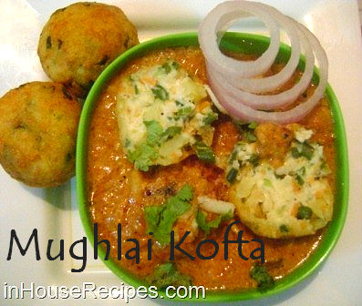 Mughlai kofta recipe veg paneer balls dipped in mughlai gravy making mughlai kofta forumfinder Choice Image