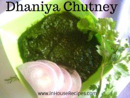 Dhaniya Chutney