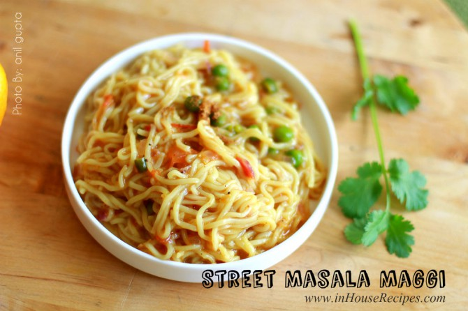 Spicing up maggi with tadka