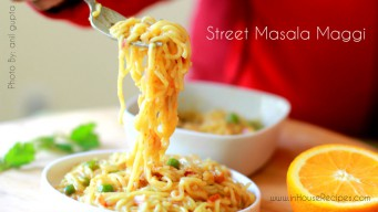 Bringing street masala maggi in your kitchen