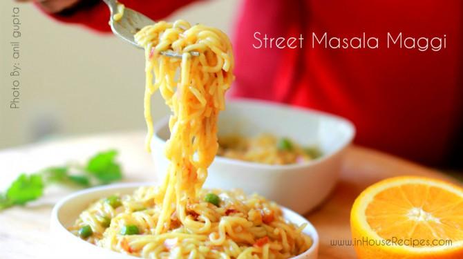 how to make maggi masala