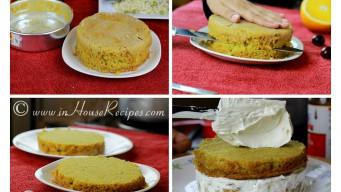 Moist dry orange cake