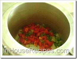 Add Peas, Tomato