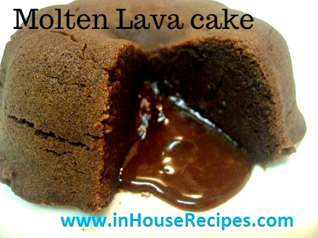 Choco Lava Cake Recipe In Hindi
