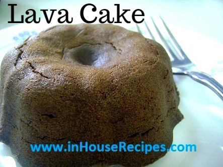 Choco Lava Cake Recipe With Egg