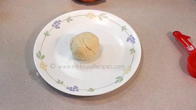 Gulab jamun dough is ready