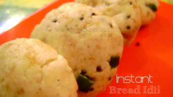 Instant bread Idli