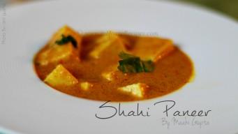Make shahi paneer at home