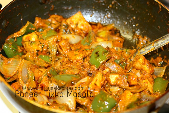Paneer Tikka Masala curry