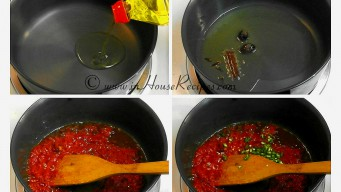 Roasting tomato for gravy