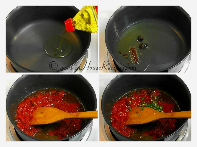 Roasting tomato for gravy