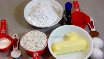 Ingredients for Marble cake