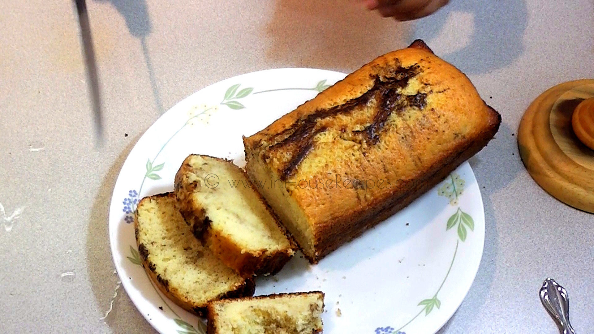 Marble Cake Recipe Baked In Oven With Egg Inhouserecipes