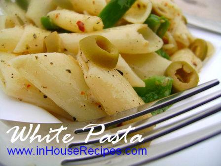 white-pasta