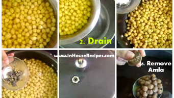 How To Make Black Chole – Use Dry Amla Or Tea Leaves