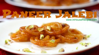 Paneer jalebi stacked on each other