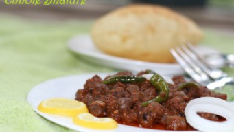 Authentic Chole bhature from north India – Made with dry Amla