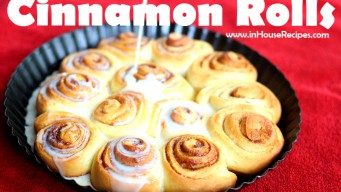 Cinnamon rolls with Glaze Topping - As sweet as it can get