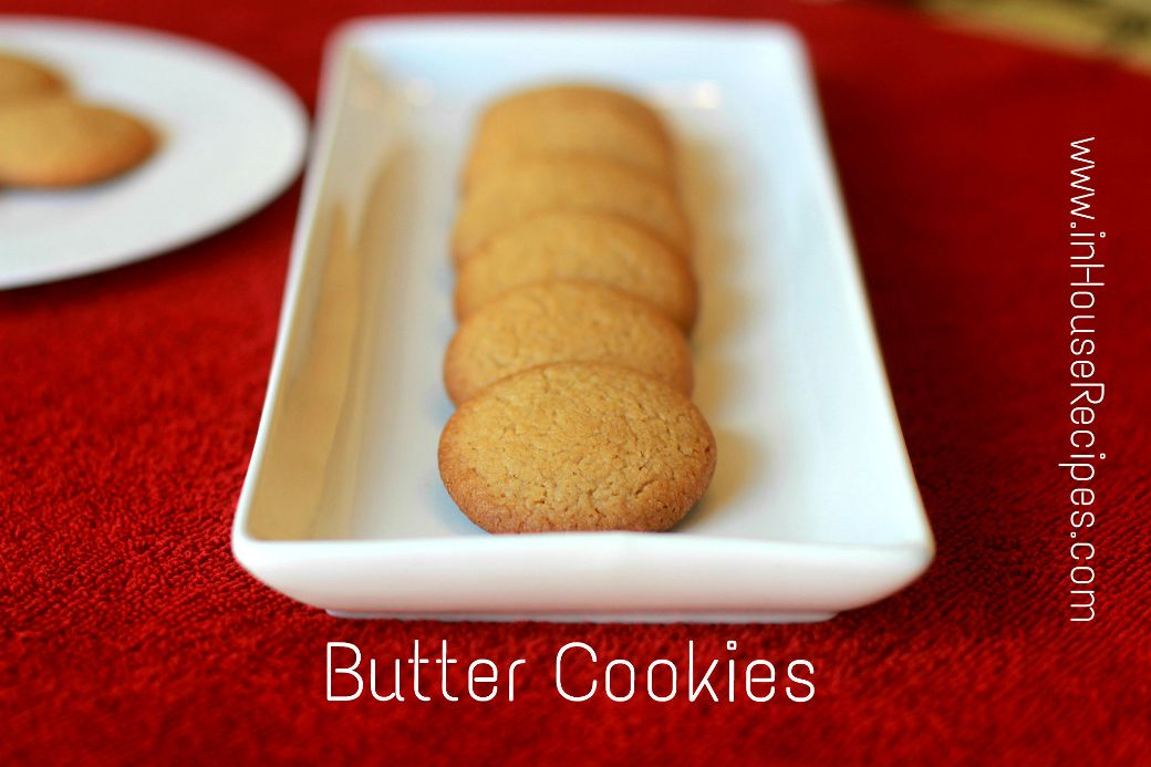 how to make butter cookies at home recipe