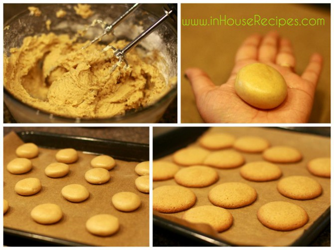 baked butter cookies at home