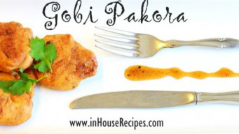 Gobi Pakora Recipe – Crisp And Tender [Pics]