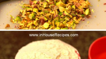 Maida and pistachio are main ingredient for pistachio cookie