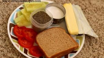 Vegetable sandwich ingredients