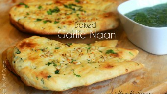 make garlic naan in oven